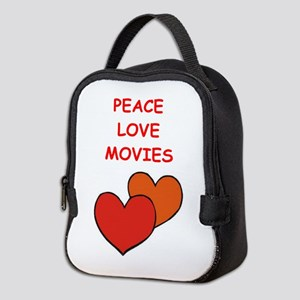 movies Neoprene Lunch Bag
