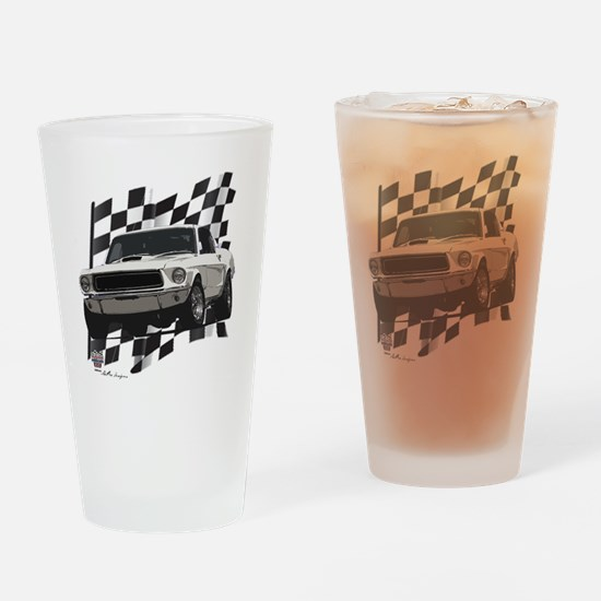 68stang Drinking Glass