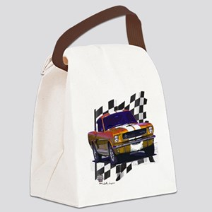 66bronze Canvas Lunch Bag