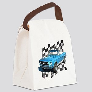 67blue Canvas Lunch Bag