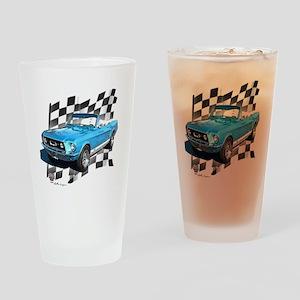 67blue Drinking Glass