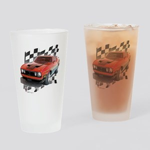 73stang Drinking Glass