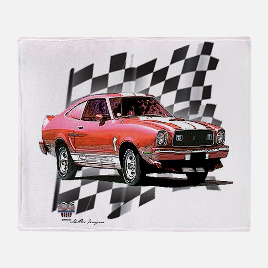 74red Throw Blanket