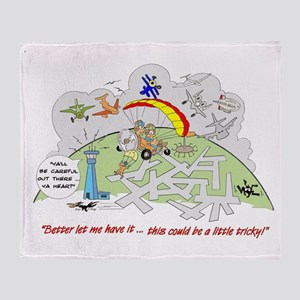 SOARING HUMOR Throw Blanket