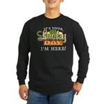 Your Lucky Day Long Sleeve Dark T-Shirt