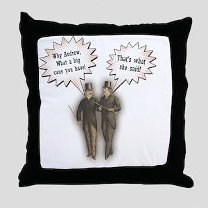 shesaid4 Throw Pillow