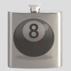8Ball-000001 Flask