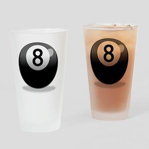 8Ball-000001 Drinking Glass