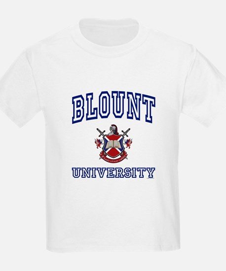 BLOUNT University Kids T-Shirt