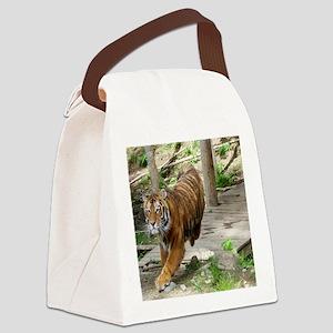 11x9 Kochime7 - Running 1 Canvas Lunch Bag