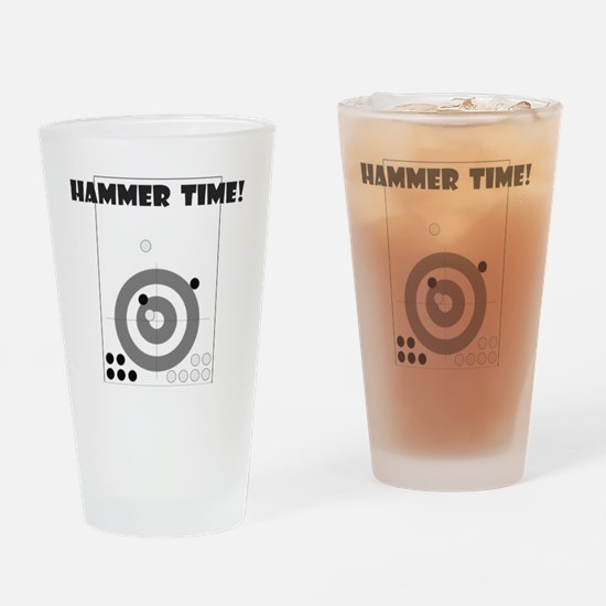 3-HammerTimeLightTee Drinking Glass