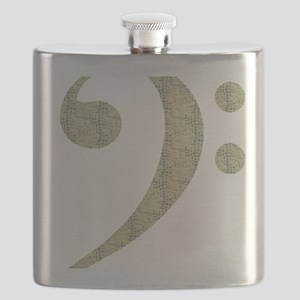 Alligator Bass Flask