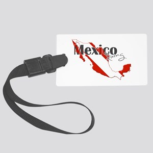 Mexico Diver Large Luggage Tag
