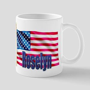Roselyn American Flag Gift Mug