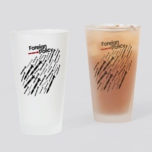 Foreign Policy - Bombs - anti-war s Drinking Glass