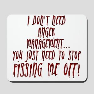 anger-management Mousepad