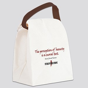 Perception Canvas Lunch Bag