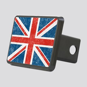 vintage-union-jack-big Rectangular Hitch Cover