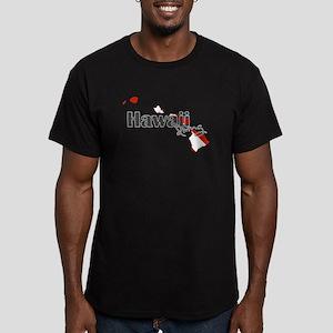 Hawaii Diver Men's Fitted T-Shirt (dark)