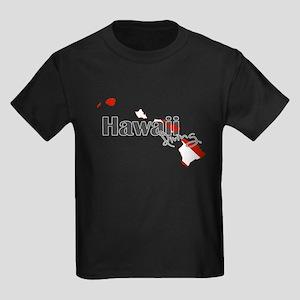 Hawaii Diver Kids Dark T-Shirt