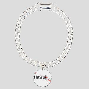 Hawaii Diver Charm Bracelet, One Charm
