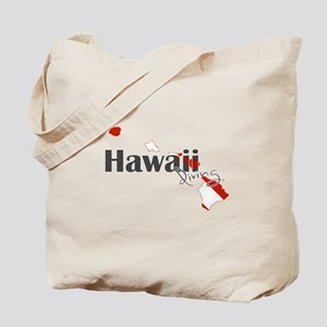 Hawaii Diver Tote Bag