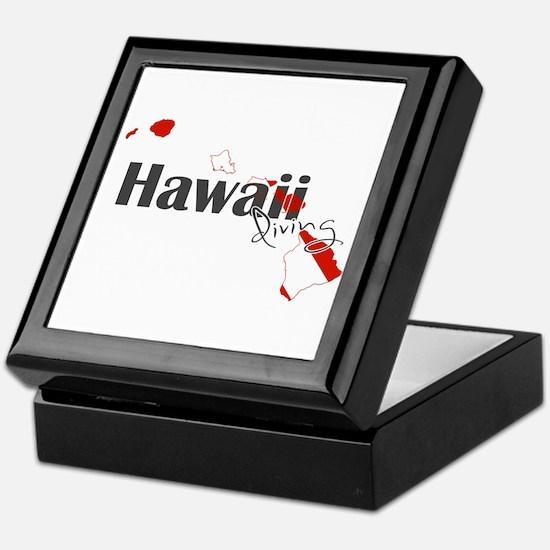 Hawaii Diver Keepsake Box