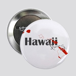 "Hawaii Diver 2.25"" Button"