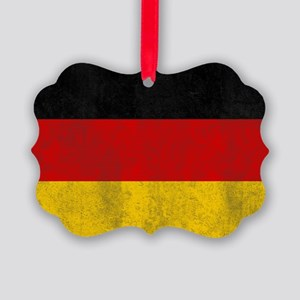 vintage-germany-flag Picture Ornament
