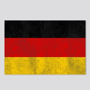 vintage-germany-flag Postcards (Package of 8)