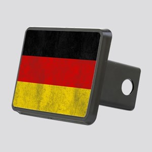 vintage-germany-flag Rectangular Hitch Cover