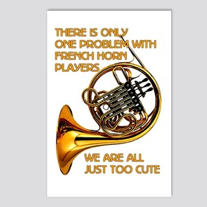 French Horn Cutie Postcards (Package of 8)