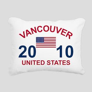 2-usa10 Rectangular Canvas Pillow