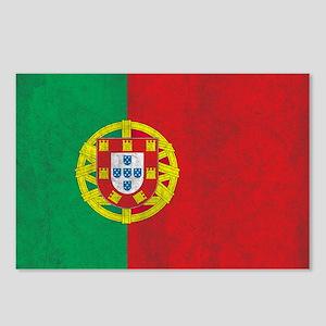 Vintage Portugal Flag Postcards (Package of 8)