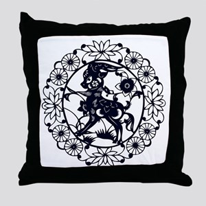 Goat1 Throw Pillow