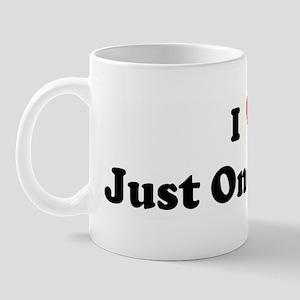 I Love Just One Flauta Mug