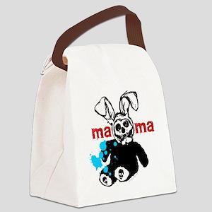 weirdo freaky tee shirts - MaMa - Canvas Lunch Bag