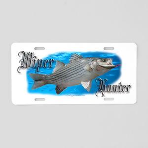 wiper 5x2 Aluminum License Plate