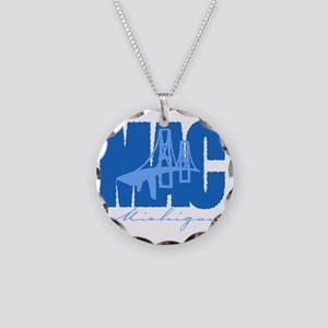 newmac Necklace Circle Charm