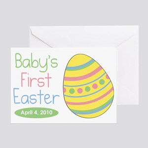 babysfirsteaster Greeting Card