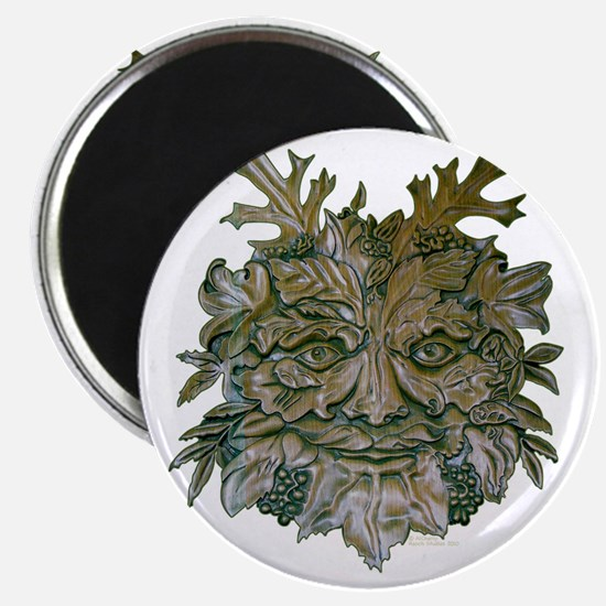 Greenman Carving Magnet
