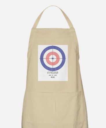 final curls logo Apron