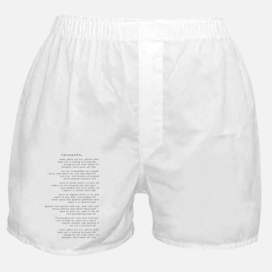 Jabberwocky - Curlz MT - Final - Flip Boxer Shorts