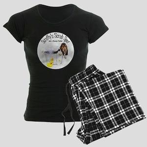 Scruffys Scrub Spot Women's Dark Pajamas