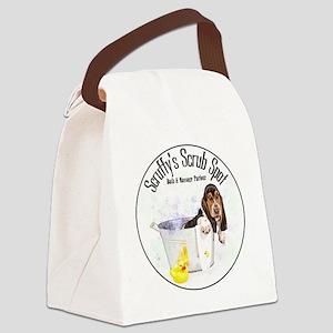Scruffys Scrub Spot Canvas Lunch Bag