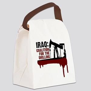 Iraq War Coalition For The Drilli Canvas Lunch Bag