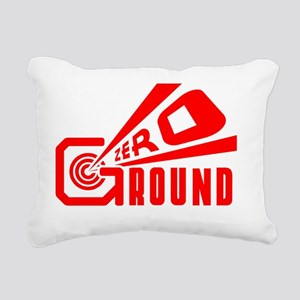 Ground Zero Rectangular Canvas Pillow