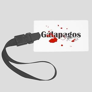 Galapagos Diver Large Luggage Tag