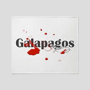 Galapagos Diver Throw Blanket
