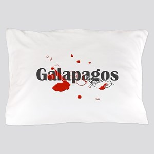 Galapagos Diver Pillow Case